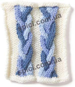 Узоры косы вязание на спицах