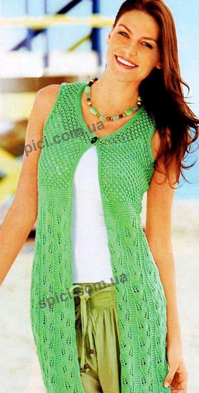 Вязание крючком - костюмы для лета
