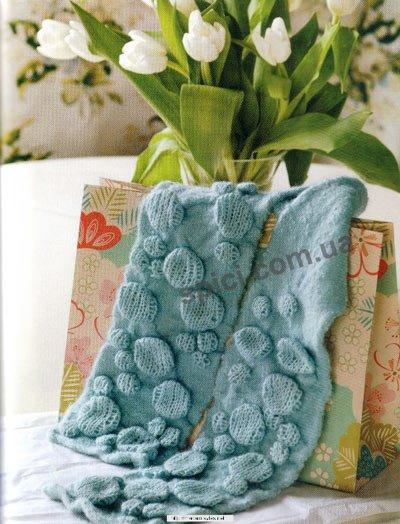 шарфы спицами - вязание для малышей и. вязаные шарфы спицами - Узоры