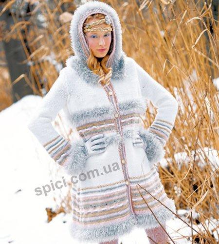 Модели вязанных жакетов для полных женщин