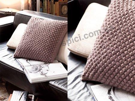 научиться рукоделию кройка и шитье вязаные подушки спицами